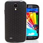 Hyperion Galaxy S4 Mini HoneyComb Matte Flexible TPU Case & Screen Protector