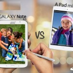 Samsung Galaxy Note 8 Vs Apple iPad Mini: Heads On (Review)