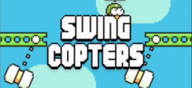 The New Crazy Game For Smartphones, Swing Copters- How To Not Lose Your Mind While Playing